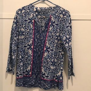 MOVING SALE! GUC Lilly Pulitzer top, size S